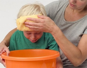 Getting Fluid Into Stomach With Food Poisoning