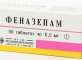 Consequences of poisoning (overdose) with phenazepam and treatment